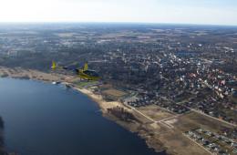 Helikopteriga Viljandi kohal