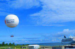 Balloon Tallinn – hiiglasliku õhupalliga Tallinna kohal