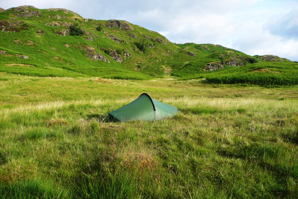 Wild Camping In The Lakes 1