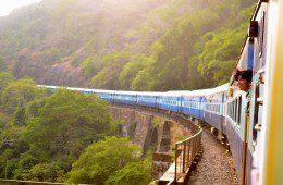 8 põhjust, miks rongisõit on lennust parem
